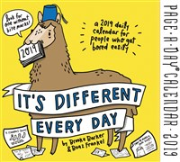 It's Different Every Day Page-A-Day Calendar 2019