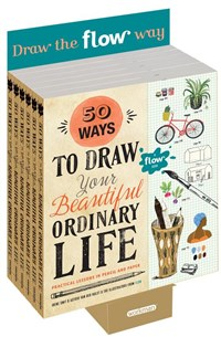 50 Ways to Draw Your Beautiful, Ordinary Life 6-copy counter display