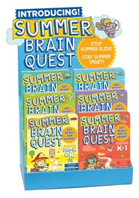 Summer Brain Quest 24-copy mixed counter display – PreK–6