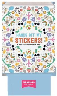 Hands Off My Stickers! 3-copy counter display