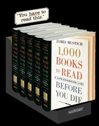 1,000 Books to Read Before You Die 5-copy counter display