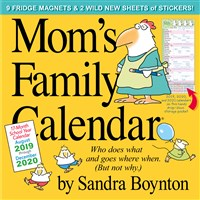 Mom's Family Wall Calendar 2020