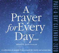 A Prayer for Every Day Page-A-Day Calendar 2020