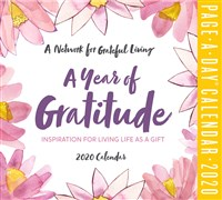 A Year of Gratitude Page-A-Day Calendar 2020