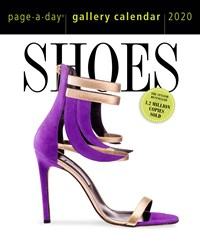 Shoes Page-A-Day Gallery Calendar 2020