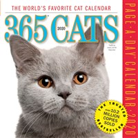 365 Cats Page-A-Day Calendar 2020