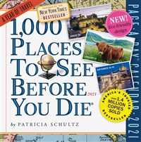 1000 Places to See Page-A-Day Calendar 2021