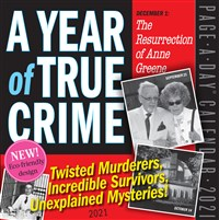 A Year of True Crime Page-A-Day Calendar 2021