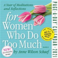 For Women Who Do Too Much Page-A-Day Calendar 2021