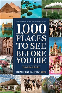 1,000 Places to See Before You Die 2021 Engagement Calendar