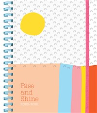 Rise and Shine 17-Month Large Planner 2020-2021