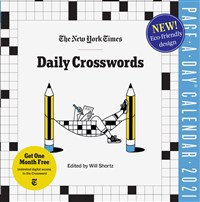 New York Times Daily Crosswords Page-A-Day Calendar for 2021
