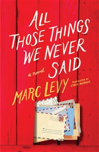 All Those Things We Never Said (UK Edition)