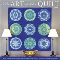 Art of the Quilt 2019 Wall Calendar