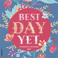 2019 Best Day Yet Wall Calendar
