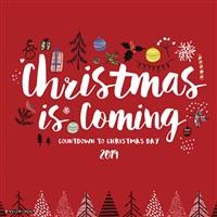 Christmas is Coming 2019 Wall Calendar
