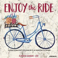 Enjoy the Ride 2019 Wall Calendar