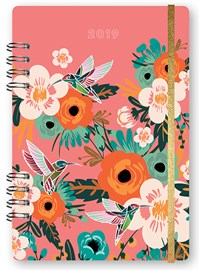 Hummingbirds & Blooms 2019 Planner