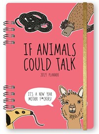2019 If Animals Could Talk Planner