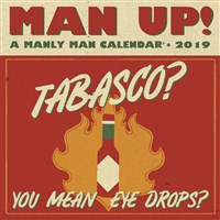 Man Up! 2019 Wall Calendar