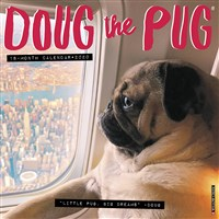 Doug the Pug 2020 Wall Calendar (Dog Breed Calendar)