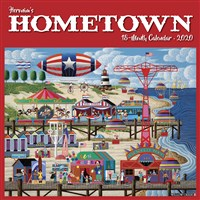 Heronim's Hometown 2020 Wall Calendar