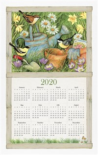 Home Is Where the Heart Is 2020 Calendar Towel