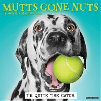 Mutts Gone Nuts 2021 Wall Calendar