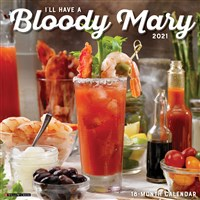 Bloody Mary 2021 Wall Calendar