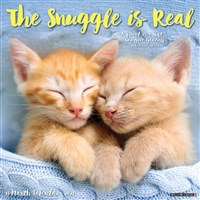 The Snuggle is Real 2021 Wall Calendar