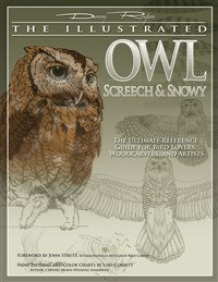 Illustrated Owl: Screech & Snowy
