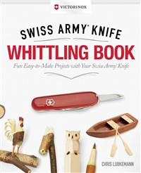 Victorinox Swiss Army Knife Whittling Book, Gift Edition