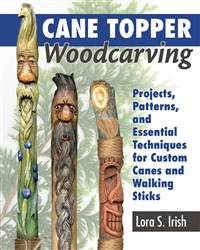 Cane Topper Woodcarving