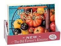 The Old Farmer's Almanac 2017 Best-Loved Recipes Calendar 20-copy Counter Display
