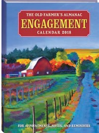 Old Farmer's Almanac 2018 Engagement Calendar