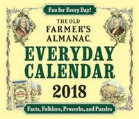 Old Farmer's Almanac 2018 Everyday Calendar