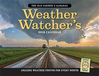 Old Farmer's Almanac 2018 Weather Watcher's Calendar