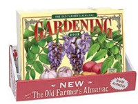 Old Farmer's Almanac 2018 Gardening Calendar 20 Copy Display