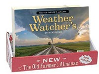 Old Farmer's Almanac 2018 Weather Watcher's 20 Copy Counter Display
