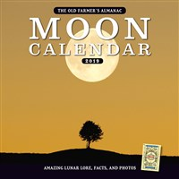 2019 Old Farmer's Almanac Moon Calendar