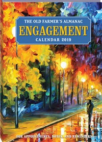 2019 Old Farmer's Almanac Engagement Calendar