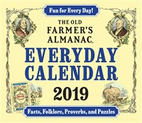 2019 Old Farmer's Almanac Everyday Calendar