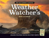 2019 Old Farmer's Almanac Weather Watcher's Calendar