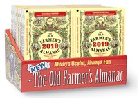 2019 Old Farmer's Almanac Canadian Edition 24-copy counter display