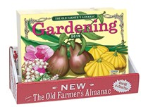2019 Old Farmer's Almanac Gardening Calendar 20-copy counter display
