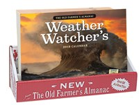 2019 Old Farmer's Almanac Weather Watcher's Calendar 20-copy counter display