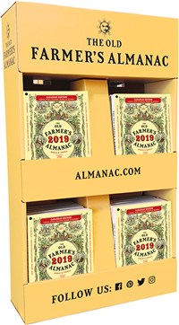 2019 Old Farmer's Almanac Canadian Edition 40-copy hanging display