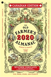 The Old Farmer's Almanac 2020  Canadian Edition