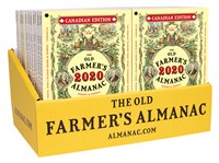 24-Copy Counter Display, 24 Old Farmer's Almanacs