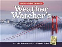 The Old Farmer's Almanac 2020 Weather Watcher's Calendar
